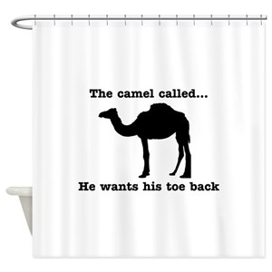 Camel Toe Shower Curtains