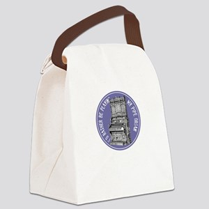 pipeorganB Canvas Lunch Bag