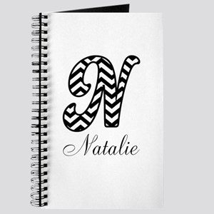 Monogram N Your Name Custom Journal