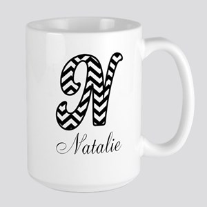 Monogram N Your Name Custom Mugs
