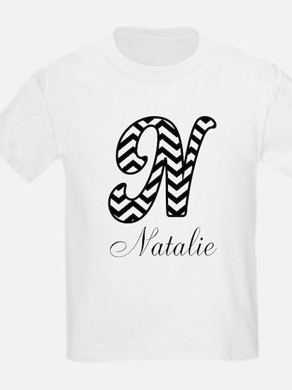 Monogram N Your Name Custom T-Shirt
