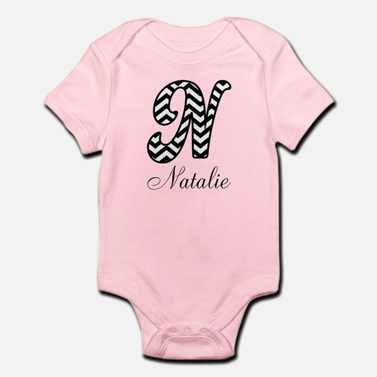 Monogram N Your Name Custom Body Suit