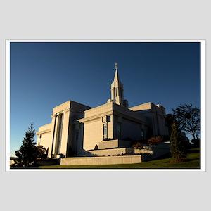 LDS, Bountiful Utah Temple: Large Poster