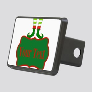 Personalizable Christmas Elf Feet Hitch Cover