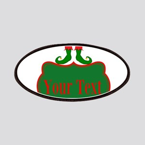 Personalizable Christmas Elf Feet Patches