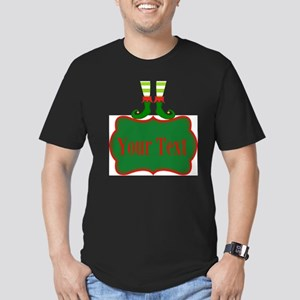 Personalizable Christmas Elf Feet T-Shirt