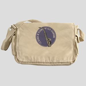 saxophone-altoB Messenger Bag