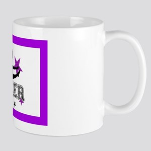 Purple Allstar Cheerleader Mug
