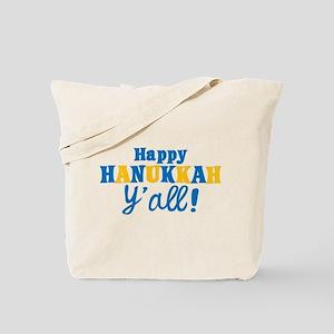 Happy Hanukkah Y'all! Tote Bag