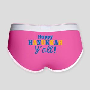 Happy Hanukkah Y'all! Women's Boy Brief