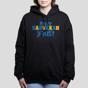 Happy Hanukkah Y'all! Women's Hooded Sweatshirt