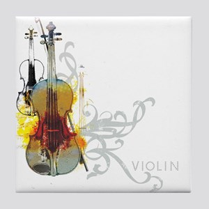 violins-art Tile Coaster