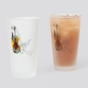 violins-art Drinking Glass