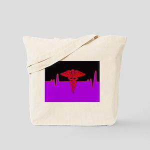 Medical Heart Beat Tote Bag