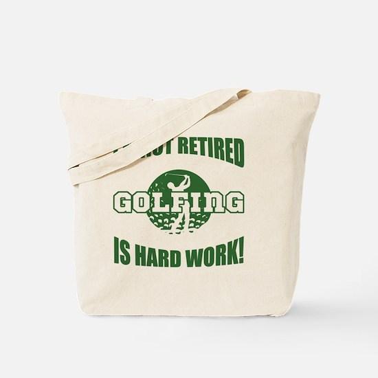 Retired Golf Lover Tote Bag