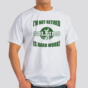 Retired Golf Lover Light T-Shirt
