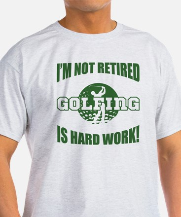 Retired Golf Lover T-Shirt