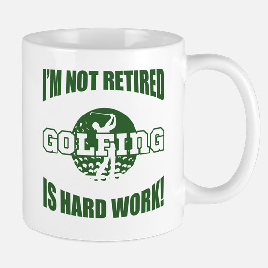 Retired Golf Lover Mug