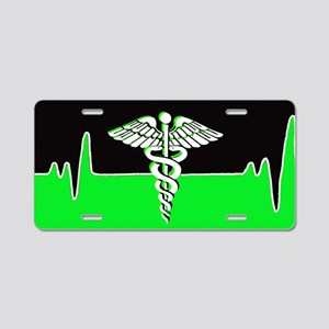 Medical Heart Beat Aluminum License Plate