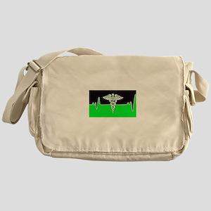 Medical Heart Beat Messenger Bag