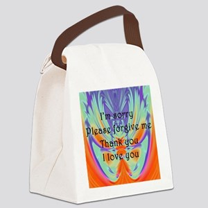 Ho' oponoponoTee Canvas Lunch Bag
