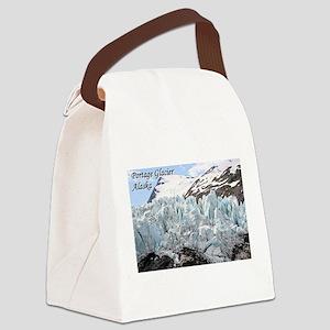 Portage Glacier, Alaska (with cap Canvas Lunch Bag