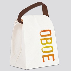 stamp-oboeB Canvas Lunch Bag