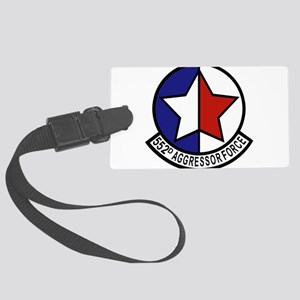 552_aggressor_force_patch Large Luggage Tag