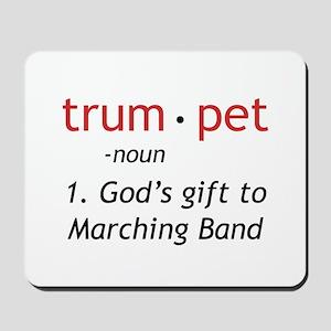 Trumpet Definition Mousepad