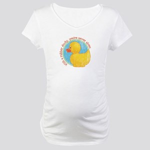 vint-rubberduck Maternity T-Shirt