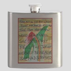 The Big Green Robe Flask