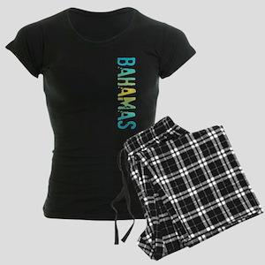 co-stamp-bahamasB Women's Dark Pajamas