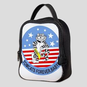 3-cat_02 copy Neoprene Lunch Bag