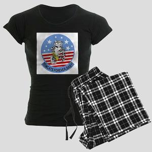 3-cat_02 copy Women's Dark Pajamas