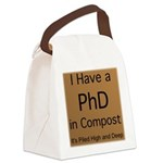 Compost PhD Canvas Lunch Bag
