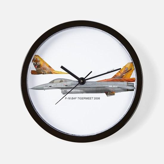 bafTiger06.jpg Wall Clock