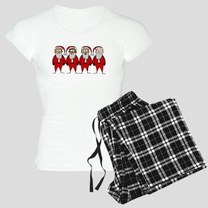 Funny Santas Pajamas