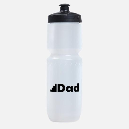Step Dad Sports Bottle