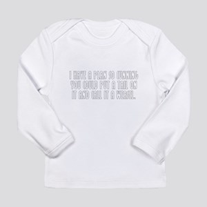 Cunning Long Sleeve Infant T-Shirt