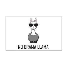 No Drama Llama Sunglasses Wall Decal