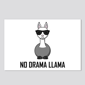 No Drama Llama Sunglasses Postcards (Package of 8)