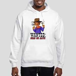 3-Pencil_slinger_wht Hoodie Hooded Sweatshirt