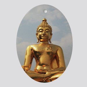 BUDDHA Ornament (Oval)