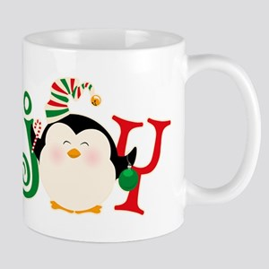 Christmas Penguin Joy 2 11 oz Ceramic Mug