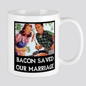 Bacon Saved Mugs