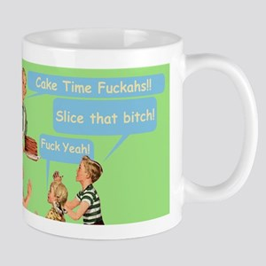 Cake Time Grn Mugs
