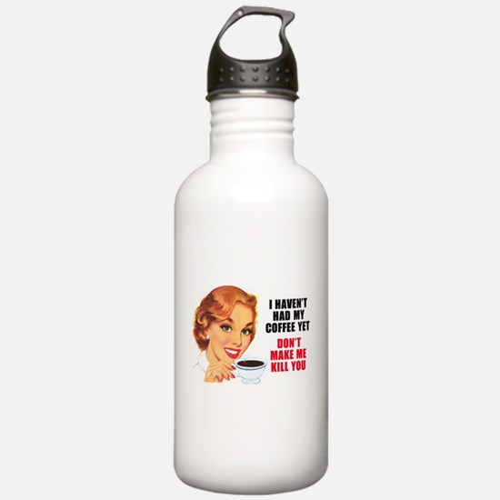Funny 50's Water Bottle
