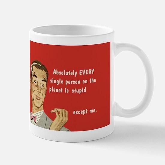 Except Me Mugs