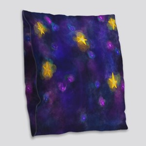 Stary Stary Sky Burlap Throw Pillow
