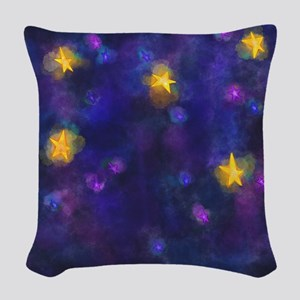 Stary Stary Sky Woven Throw Pillow